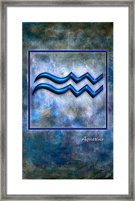 Aquarius  Framed Print by Mauro Celotti