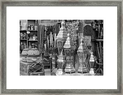 Arab Bazaar Framed Print by Paul Cowan