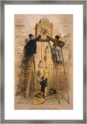Arbitration Is The True Balance Of Framed Print