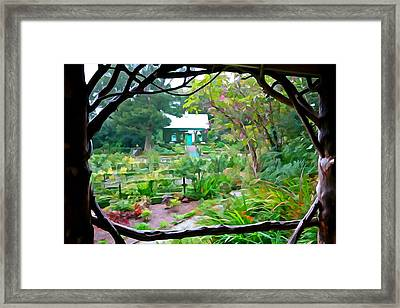 Arbor View Framed Print