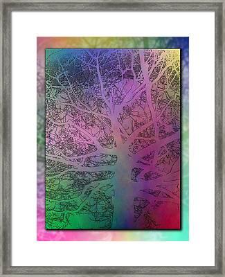 Arboreal Mist 2 Framed Print