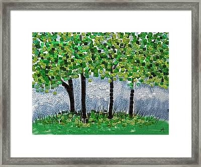 Arborline Framed Print by Anita Duhon