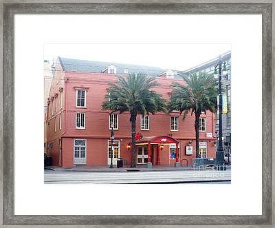 Framed Print featuring the photograph Arby's At Dawn by Alys Caviness-Gober