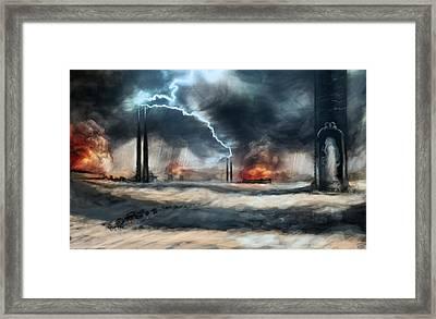 Arc Towers Framed Print by Ethan Harris
