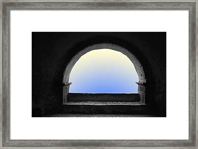 Arcade Framed Print by Emanuel Tanjala