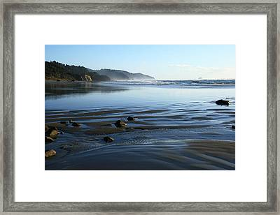 Arcadia Beach Framed Print
