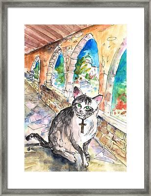 Arch Bishop Of Caterbury Framed Print
