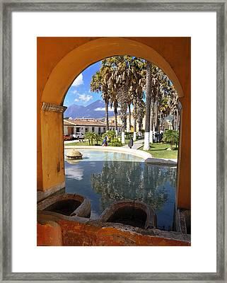 Arch Framed Print by Francesco Nadalini