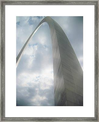 Arch In The Sky Framed Print
