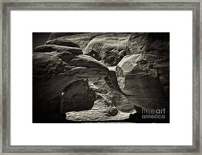 Arch Framed Print by Linda Constant
