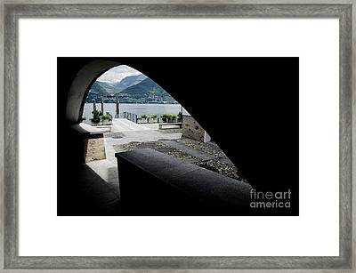 Arch Framed Print by Mats Silvan