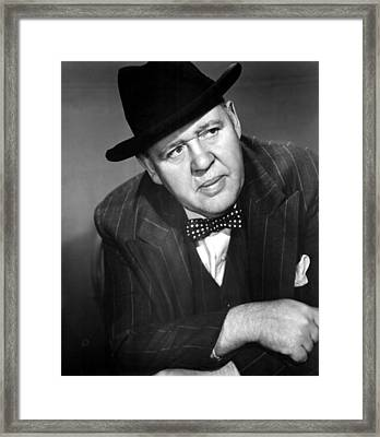Arch Of Triumph, Charles Laughton, 1948 Framed Print by Everett