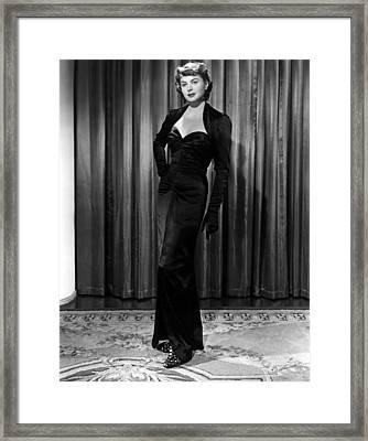 Arch Of Triumph, Ingrid Bergman, 1948 Framed Print by Everett