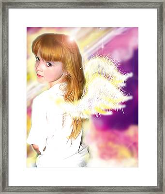 Archer.angelic 2 Framed Print by Nada Meeks