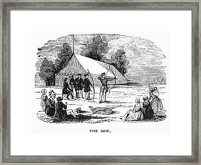 Archery, C1830 Framed Print by Granger