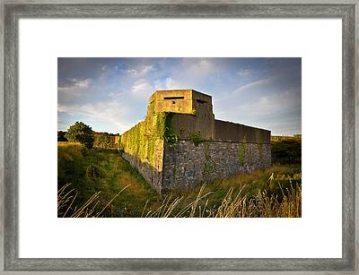 Archery Fort Framed Print by Erica McLellan