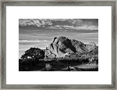 Arches Black And White Framed Print by Wilma  Birdwell
