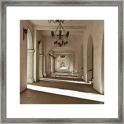 Framed Print featuring the photograph Arches II by Ryan Weddle