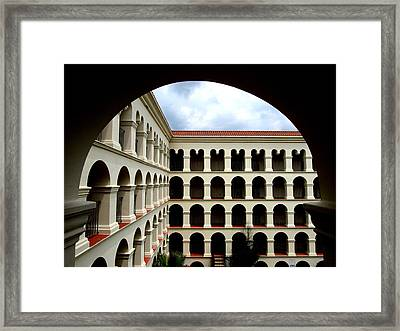 Arches Many Framed Print by James Granberry