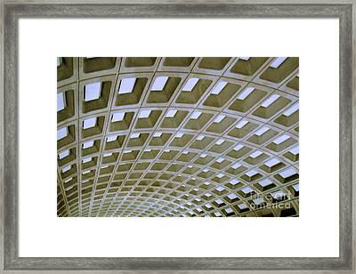 Arches Framed Print by Mark Dodd