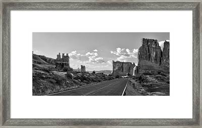 Arches National Park Framed Print by Ellen Heaverlo