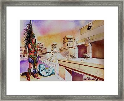 Architect's Dream Framed Print by Luis  Leon