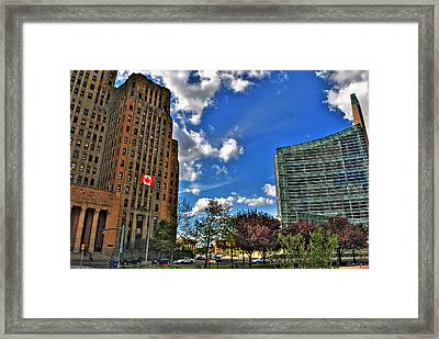 Architectural Dynamics  Framed Print by Michael Frank Jr