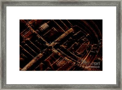 Architecture Angles Framed Print by Jan Willem Van Swigchem