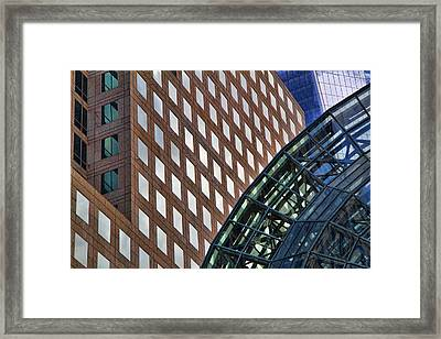 Architecture Building Patterns Framed Print