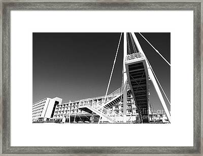 Architecture Framed Print by Gaspar Avila