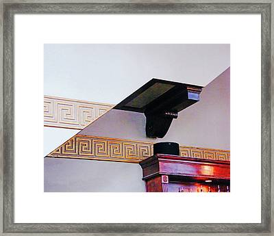 Framed Print featuring the photograph Architecture  by Lizi Beard-Ward