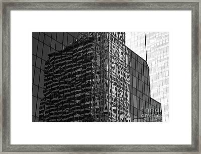 Architecture Reflections Framed Print