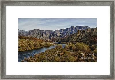Arda In Madjarovo Framed Print