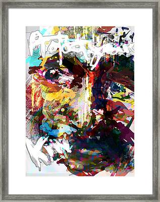 Are You Confused? Framed Print