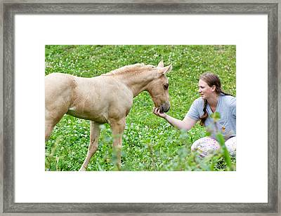 Are You My Mommy? Framed Print by Stephani JeauxDeVine