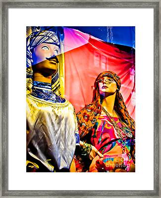 Are You Strong Enough To Be My Man Framed Print by Colleen Kammerer