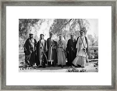 Aref Al-aref (1892-1973) Framed Print by Granger