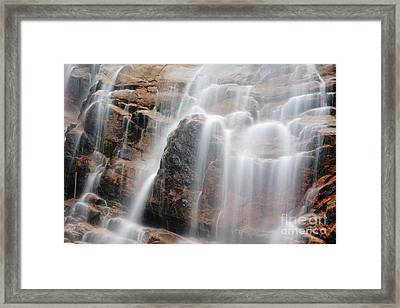 Arethusa Falls - Crawford Notch State Park New Hampshire Usa Framed Print by Erin Paul Donovan