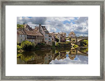 Framed Print featuring the photograph Argentat by Rod Jones