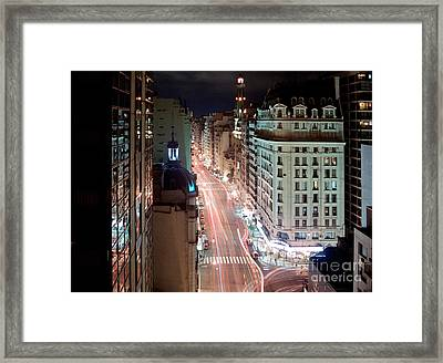 Argie Night Framed Print