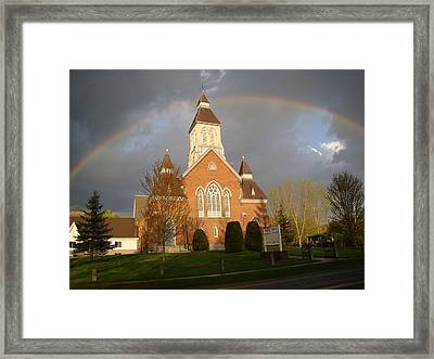 Argyle Presbyterian Church Framed Print by Mark Haley
