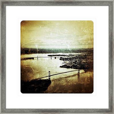 Arial View Framed Print