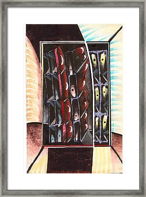 Arid-scape Framed Print by Al Goldfarb