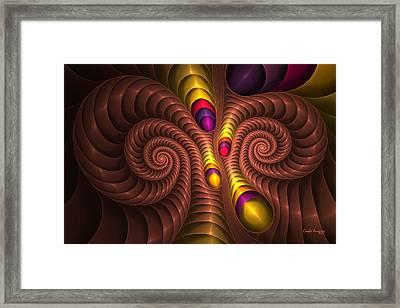Aries Framed Print by Elena Martinez-Vergara