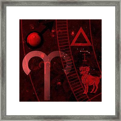 Aries Framed Print by JP Rhea