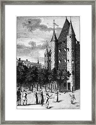 Aristocrat Prisoners, C1793 Framed Print by Granger