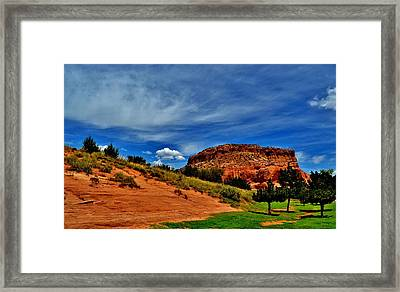 Arizona Canyon Framed Print by Sara Edens