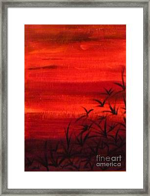 Arizona Dusk Framed Print
