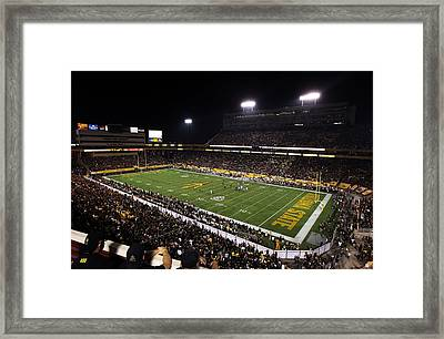 Arizona State Sun Devil Stadium Framed Print by Getty Images