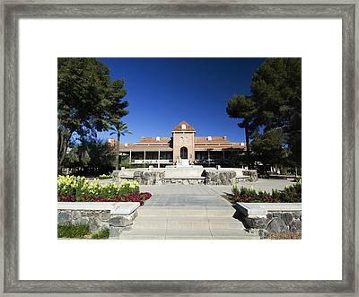 Arizona The Student Union Framed Print by University of Arizona